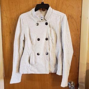 Cabi cream double snap jacket